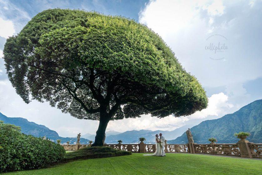Destination Wedding como villa erba