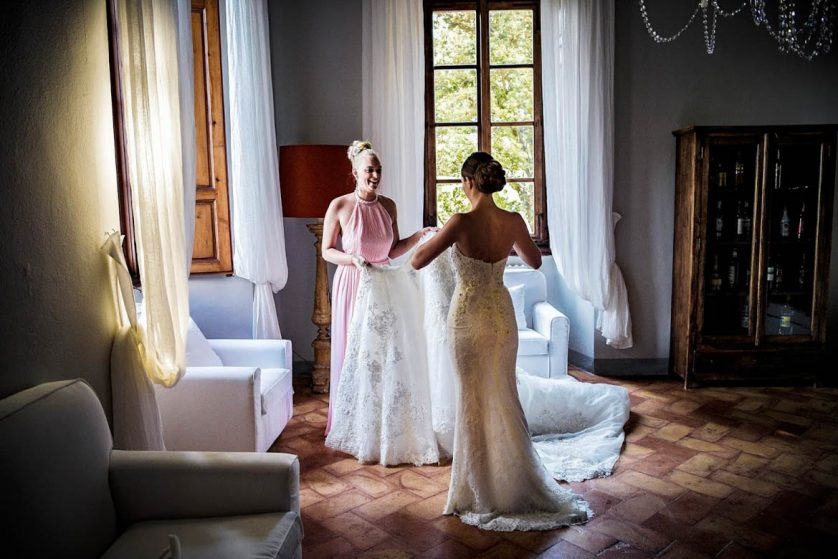 Two Wedding days in Tuscany-David & Madelene Villa Ulignano